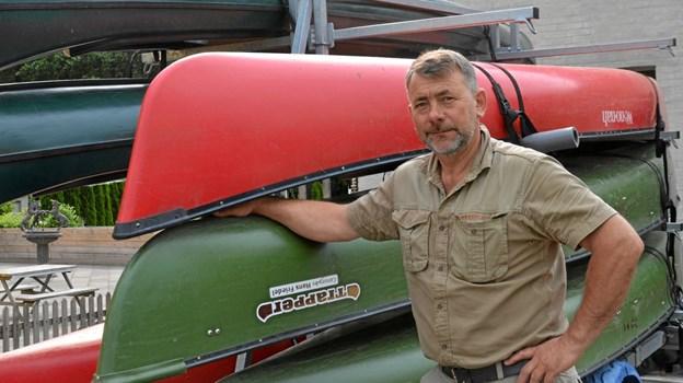 Siden 2007 har Carsten Nørgaard stået i spidsen for Mariagerfjord Kajak. Foto: Jesper Bøss
