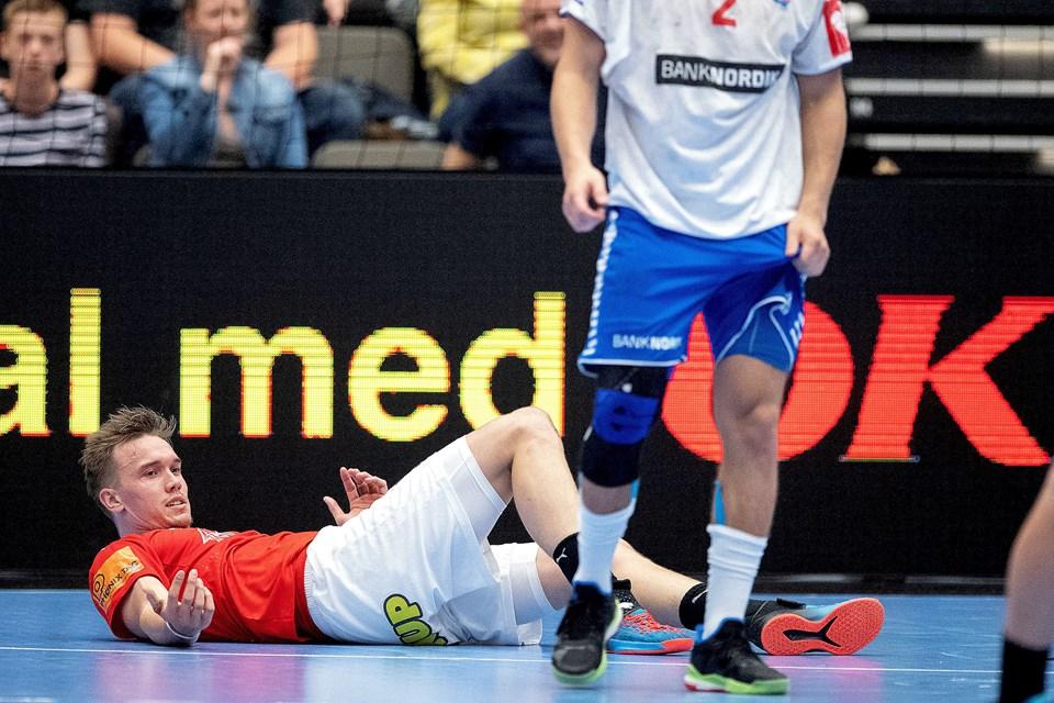 Håndbold, Danmark-Færøerne Foto Lars Pauli / Nordjyske Medier