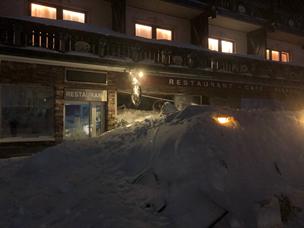Lavine ramte hotel i Østrig: Nordjyske skiløbere evakueret