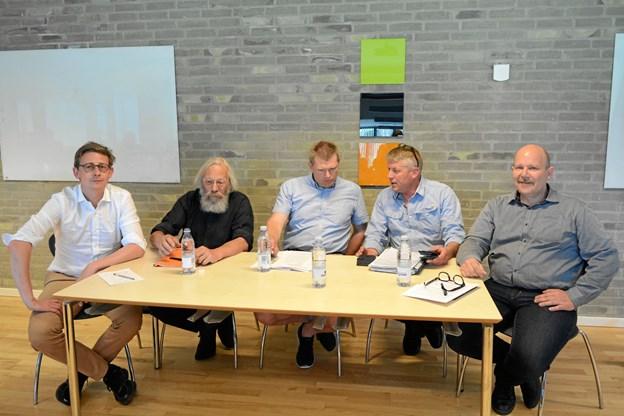 Karsten Lauritzen, Lars Schoenberg-Hemme, Niels Nielsen, Kim Andersen og Stefan Karlborg.