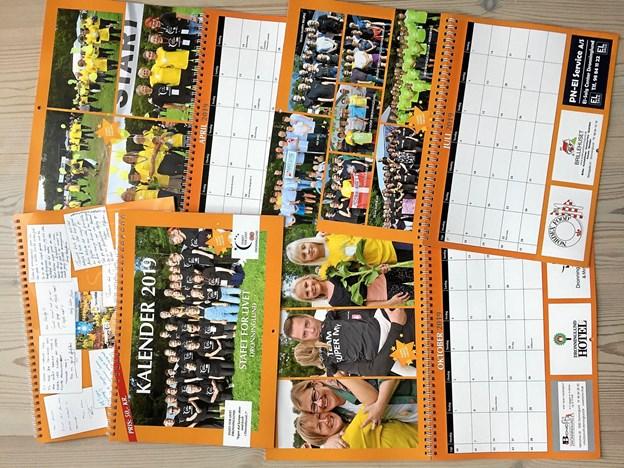 Stafet For Livet Dronninglund har netop udgivet en ny kalender med bl.a. mange billeder fra årets 24-timers stafet. PR-foto