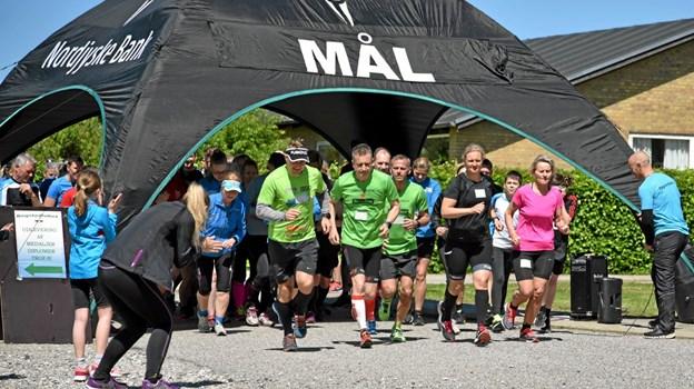 Der var flest deltagere på 10,5 km ruten. Foto: Niels Helver Niels Helver