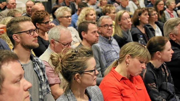 145 Personer var mødt frem. Foto: Flemming Dahl Jensen Flemming Dahl Jensen