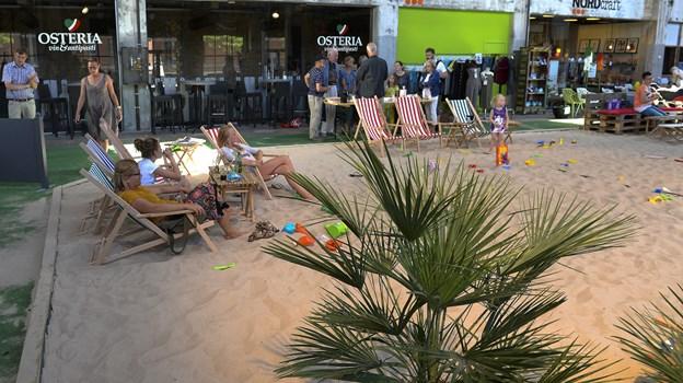 Costa del Nordkraft byder på sin egen, indendørs sandstrand og et væld af aktiviteter hver dag sommeren igennem. Arkivfoto: Michael Bygballe