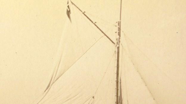 Foto fra den oprindelige Carolins tid. Hun blev søsat i 1866. Picasa