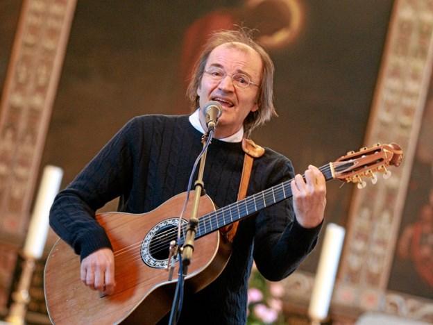 Thomas Kjellerup giver 21. februar koncert i Gåser Kirke. Foto: Allan Mortensen