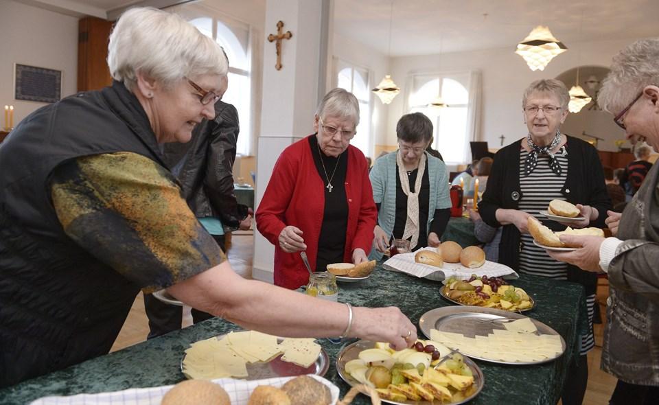 """Den årlige """"pigefridag"""" fandt første gang sted i Hobro Missionshus i 2014, hvorfra dette foto stammer. Arkivfoto: Grete Dahl"""