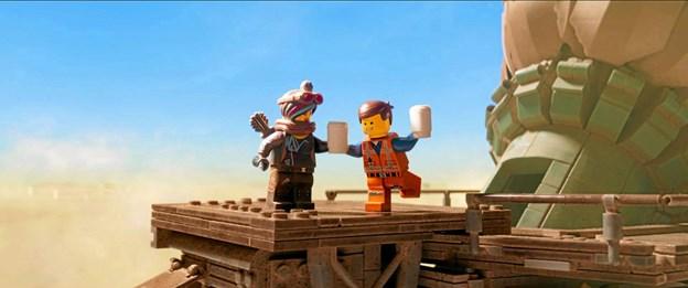 Scene fra LEGO-filmen.