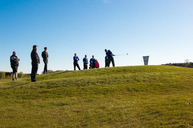 Golf er for alle - uanset alder og niveau. Du kan besøge forårsmessen lørdag 2. og søndag 3. marts i Arena Nord. Foto:  Diana Holm