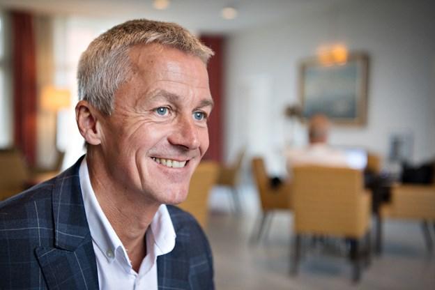 Hoteldirektør Tom Boye har grund til at smile af årets gang på Montra Skaga Hotel.  Arkivfoto: Hans Ravn