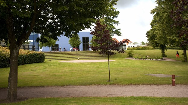 Kulturhuset i Hjallerup.Arkivfoto: Kurt Bering
