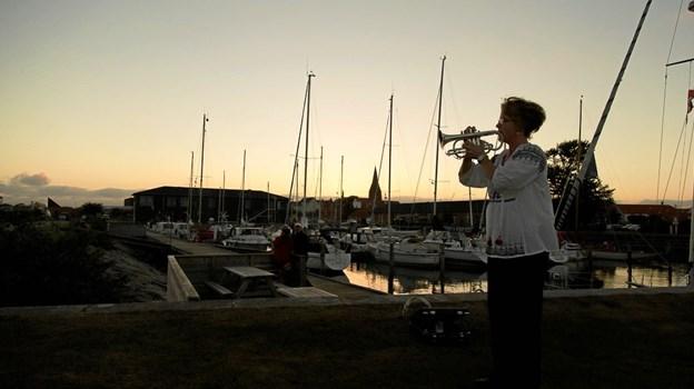 Stemningsfyldte stunder venter igen ved lystbådehavnen i Nykøbing. Foto: Lars Dahl.