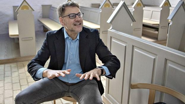 Henrik Bang-Møller har valgt at søge nye udfordringer efter 20 år som præst i Skagen.Foto: Kurt Bering