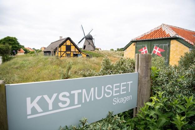 Kystmuseet Skagen kan opleves uden at betale entre i januar. Arkivfoto: Kim Dahl Hansen.