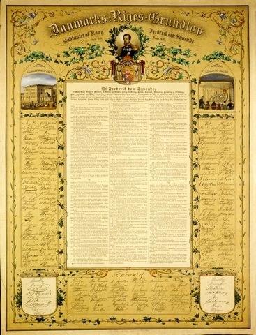 danmarks riges grundlov med kommentarer