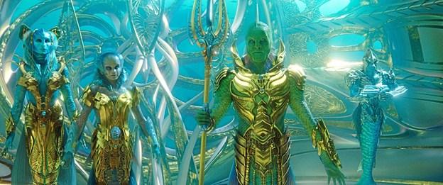 Aquaman udspiller sig i de syv verdenshave.