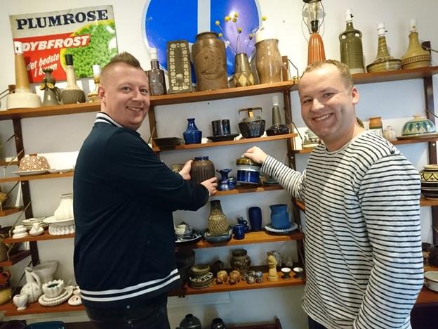 Fremover vil Ole Hald Grydgaard (til højre) få en mere fremtrædende rolle i KrejlerbiXen, fortæller Casper Svejstrup. Foto: Dorit Glintborg
