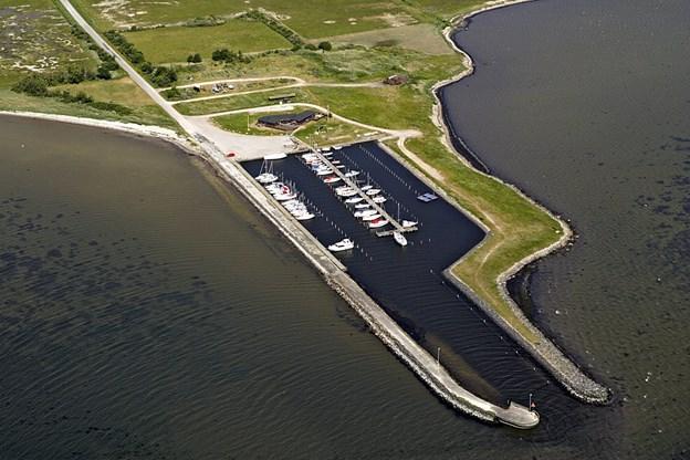 Attrup Havn er en del af masterplanen for Limfjorden. Arkivfoto