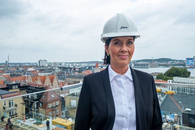 Salling Rooftop bliver også en attraktion for de turister der gæster Aalborg, fremhæver Camilla Mortensen.