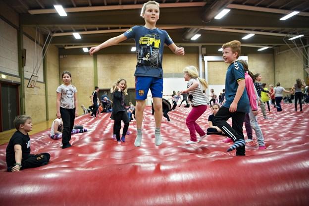 Store Hoppedag i Jerslev bliver i år afholdt for 20. gang.Arkivfoto: Kurt Bering