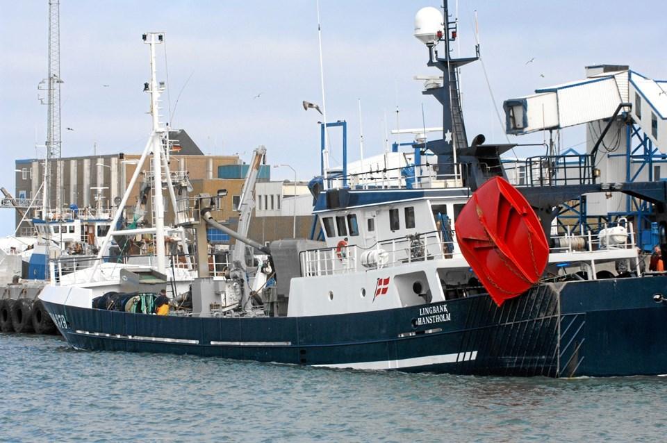 Linkbank, som nu bliver canadisk trawler. Arkivfoto Ole Iversen