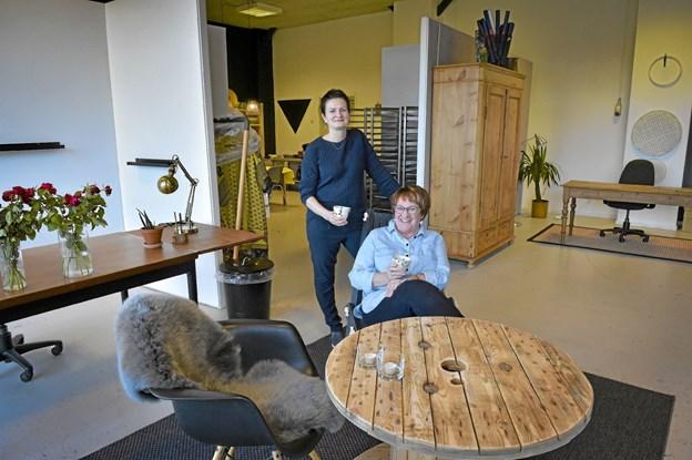 Vandkantshuset bliver også et aktivt kursussted, workshop for kreative fag og et mindre kontorfællesskab. Foto: Ole Iversen Ole Iversen
