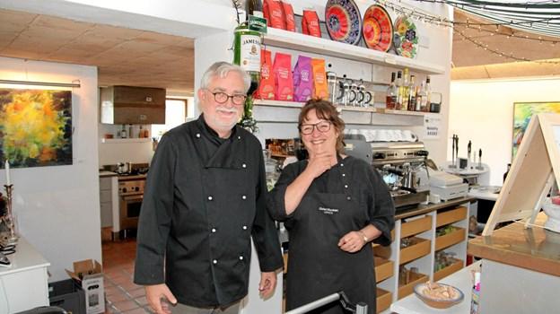 Jesper og Anette Svensson har styr på arrangementerne. Foto: Flemming Dahl Jensen Flemming Dahl Jensen
