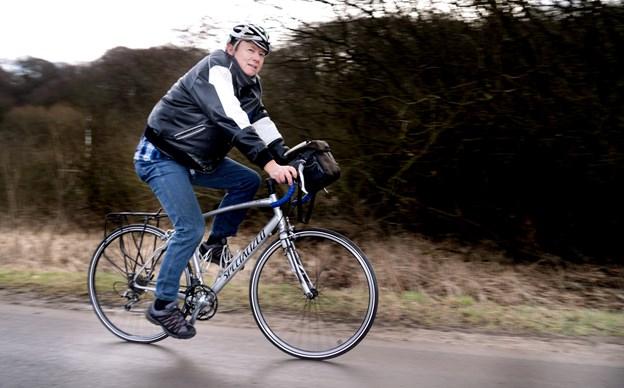 Lars Nielsen, nu pensionist, har siden 1980 cyklet otte gange i det nordvestlige Canada og USA - herunder i Alaska og Yukon området. Torben Hansen