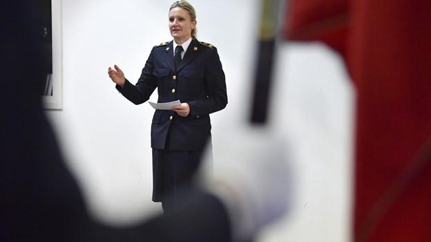 Diana Sørensen, direktør for Nordjyllands Beredskab. Foto: Bente Poder
