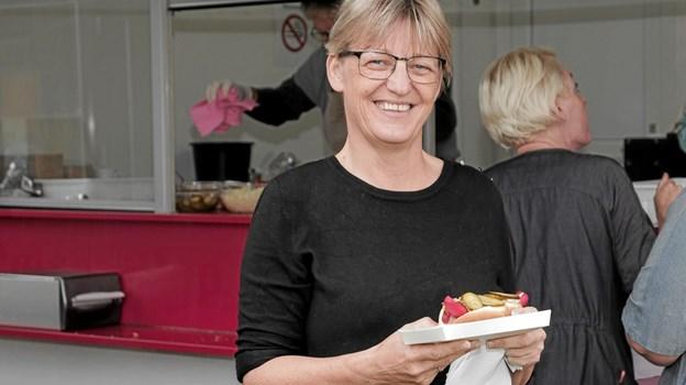 afdelingsleder Mette Bang, udtrykte sin dybe taknemmelighed for alle de frivilliges store arbejde. Foto: Peter Jørgensen Peter Jørgensen