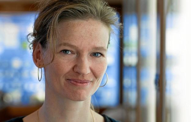 Rikke Schmidt Kjærgaard fortæller 15. november om sin seje kamp for at vende tilbage til livet ved et arrangement i Den Gamle Biograf i Mariager. Privatfoto