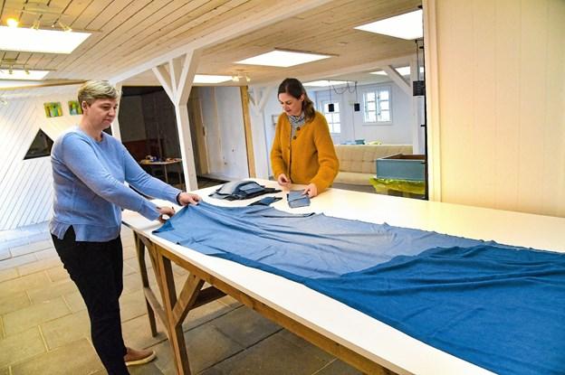 I sømrummet er der plads til at andre kunsthåndværkere, designere og kunstnere kan leje sig ind. Foto: Ole Iversen Ole Iversen