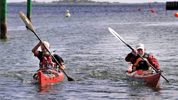 Mulighederne for at dyrke havsport vejer godt i fjerde pladsen til Frederikshavn kommune. Foto: Bent Bach