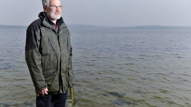Størstedelen af sit voksenliv har Paul Arnbak boet Under Skoven i Stinesminde - få meter fra Mariager Fjord. Arkivfoto: Torben Hansen Torben Hansen