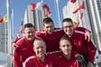 Danske curlingherrer taber til Sverige i første OL-opgør
