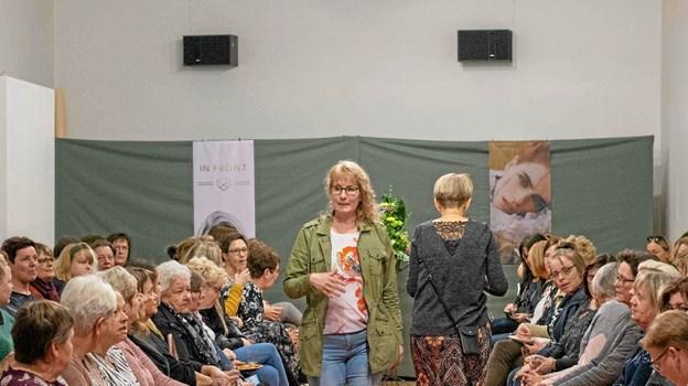 Pia Harbo præsenterede sammen med seks modeller forårets mode i sin forretning på Nørregade i Hirtshals forrige mandag. Foto: Privatfoto
