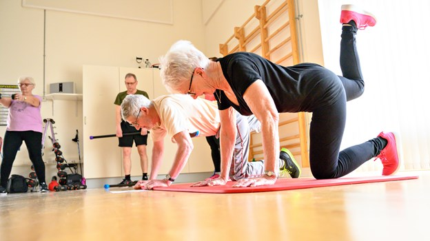 Når man har haft kræft, tilbyder det offentlige noget træning bagefter. Når det stopper, står Kræftens Bekæmpelse klar med et varigt tilbud. Foto: Kurt Bering Kurt Bering