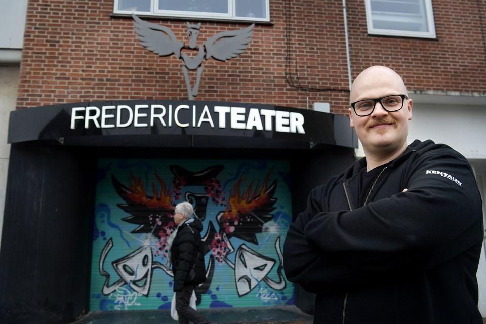 Søren Bech-Madsen var en del af det første hold, der blev udlært fra Fredericia Teater i 2003. Foto: Arkivfoto