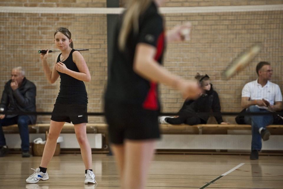 Der spilles masser af badminton i weekenden. Arkivfoto: Martin Damgård