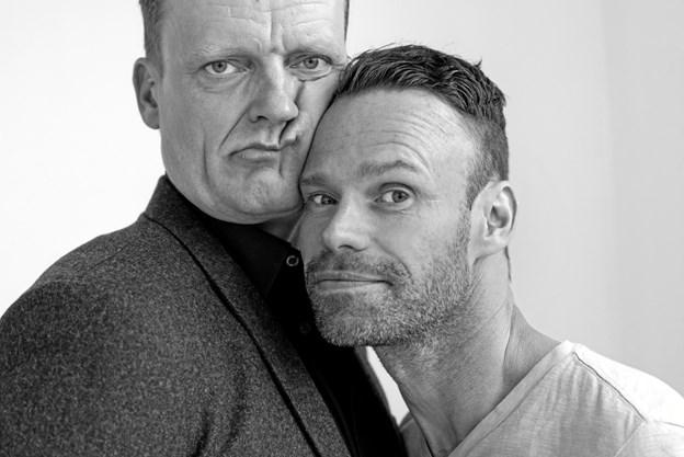 Frank Hvam og Mick Øgendahl sælger godt.