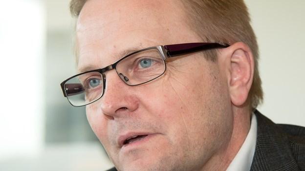 Morsø Kommunes borgmester i en mere formel situation. Arkivfoto: Bo Lehm. © Bo Lehm