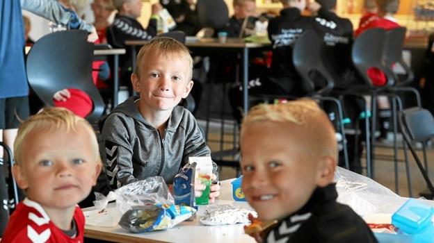 Alle dagene var der frokost i hallens café. Foto: Allan Mortensen Allan Mortensen