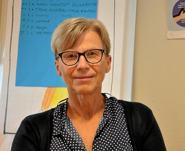 Elsebeth Kaasing bliver nu leder af den integrerede institution Den Grønne Giraf, idet der udover børnehaven bliver en vuggestue i bygningerne. Foto: Ole Torp