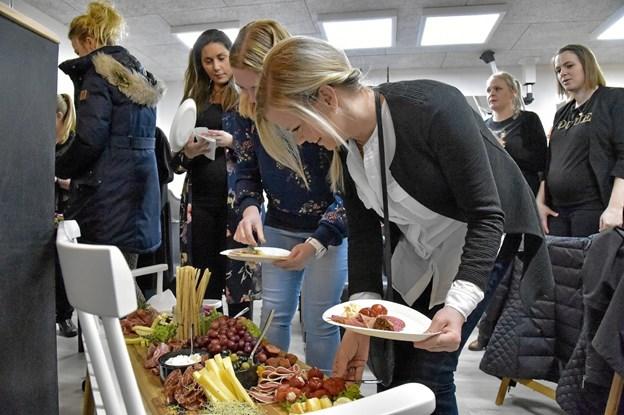 Den Gamle Slagter diskede op med tapas-bord. Foto: Ole Iversen Ole Iversen