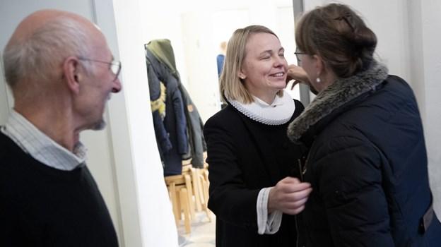 Line Kjær Nielsen har arbejdet i Thisted gennem syv år. Foto: Peter Mørk Peter Mørk