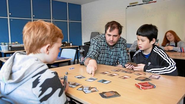 Rollespilsforeningen introducerede Dungeons & Dragons MICHAEL MADSEN  OCTOMEDIA