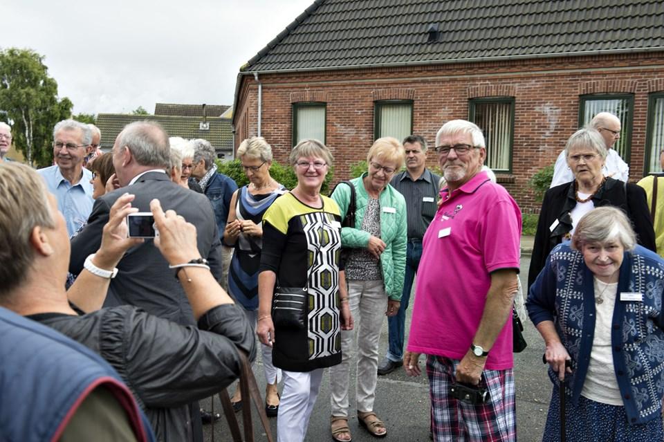 Foto: Kurt BeringDen store skolefest for alle tidligere elever på sterup Skole holdes i Sterup Forsamlingshus