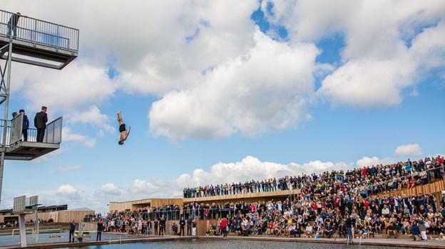 Vestre Fjordpark bliver en af arenaerne til Idrætsmødet i Aalborg. Foto: Aalborg Kommune