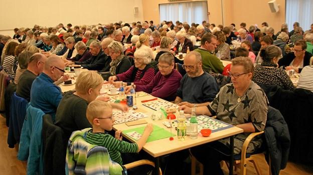200 bankospillere skabte sidste gang en intens spænding i Manegen.