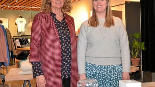 Bag Stilkompagniet står Annette Frydensberg og Didde Stern. Foto: Jesper Bøss Jesper Bøss